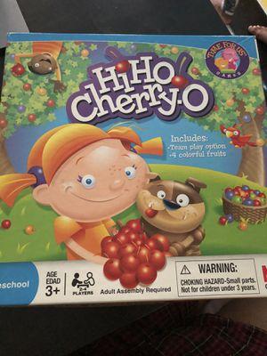 Hi Hi Cherry- O Kids Board Game for Sale in Washington, DC