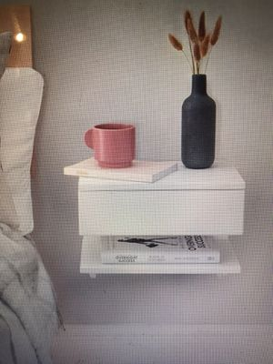 White Floating Nightstand Table for Sale in New York, NY