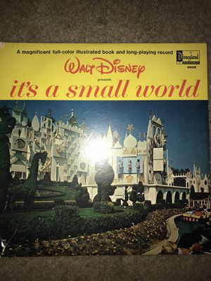 Disney It's a Small World Original Record for Sale in Cary, NC