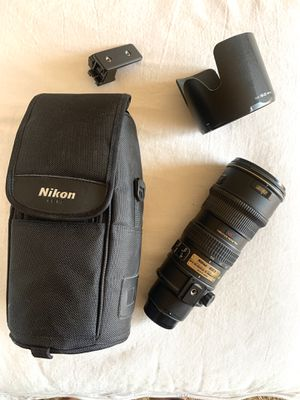 NIKON 70-200mm AF-S VR F2.8G LENS for Sale in Marina del Rey, CA