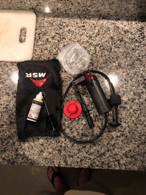 Msr Sweetwater backpacking filtration system for Sale in Orlando, FL
