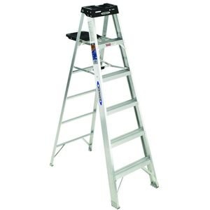 Werner 6ft aluminium ladder 200lb for Sale in Union City, CA