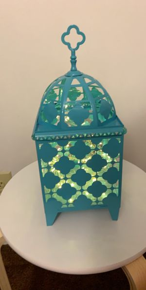 Home decor Moroccan light for Sale in Sterling Heights, MI