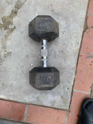 30'pound dumbbell for Sale in Los Angeles, CA