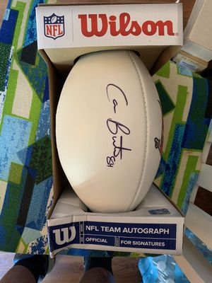 Cam Brate signed Buccaneers football for Sale in Tampa, FL