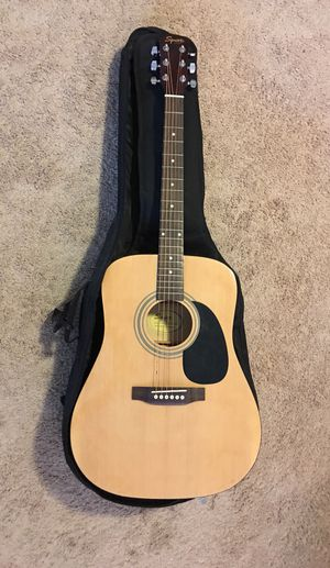 Acoustic guitar and bag for Sale in Kyle, TX