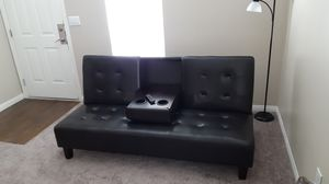 BRAND NEW futon w/floor lamp included for Sale in Las Vegas, NV