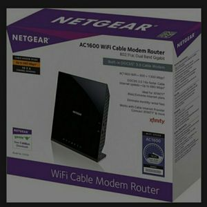 Netgear WiFi Cable Modem Router for Sale in Woodbridge, VA