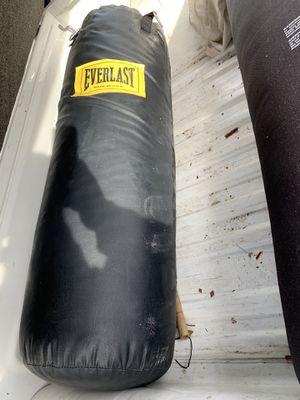 Everlast punching bag for Sale in Oceanside, CA
