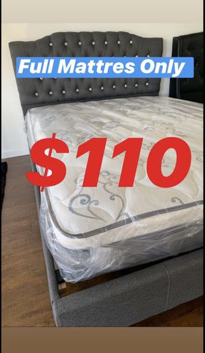 🎋FULL SIZE PILLOW TOP PLUSH MATTRESS BAMBOO BRAND NEW BACK SUPPORT🎋 for Sale in Los Angeles, CA