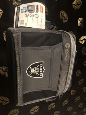 Raiders lunch cooler for Sale in Compton, CA