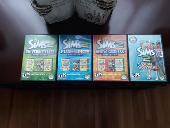 Sims2 computer games for Sale in Woburn,  MA
