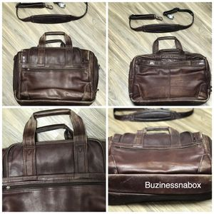 Avenues leather messenger laptop bag for Sale in Ontario, CA