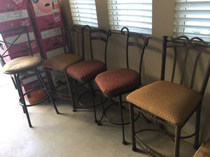 2 sets of bar stools and one random for Sale in San Clemente, CA