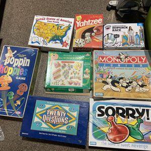 Board Games Lot for Sale in La Mesa, CA