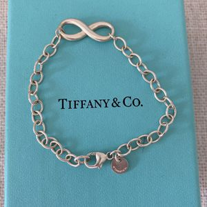 Sterling Silver New In box Authentic Tiffany Infinity Bracelet for Sale in Newport Beach, CA