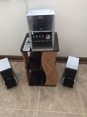 Panasonic Radio/DVD Player Stand for Sale in York, PA