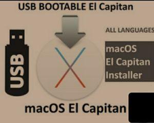 Mac OS USB Bootable Installer 10.11 El Capitan for All Apple iMac / Macbook / Mac Mini for Sale in Queens, NY