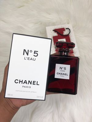 Chanel No5 Leau Red Perfume 100ml New! for Sale in Tacoma, WA