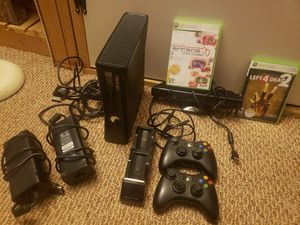 Xbox 360 kinect console for Sale in Edgemoor, DE