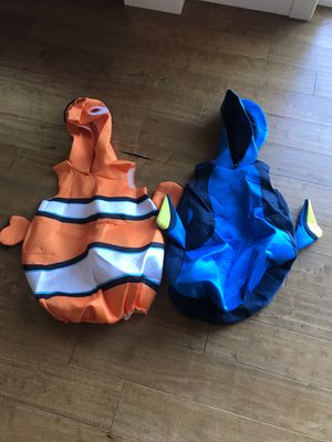 Matching Finding Dory and Nemo Pixar costumes for Sale in Bellevue, WA
