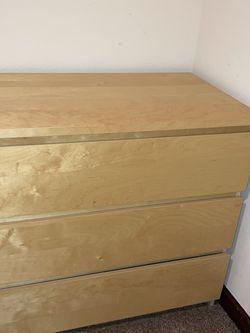 IKEA 3 Drawer Dresser $15 Pu Today for Sale in Monroe,  WA