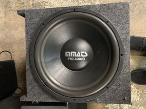 MMATS PRO AUDIO 15inch Subwoofers for Sale in Palatine, IL