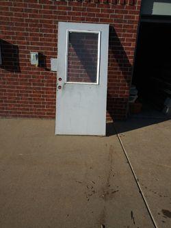 Steelcase exterior door. 36''× 89 1/2'' for Sale in Wichita,  KS