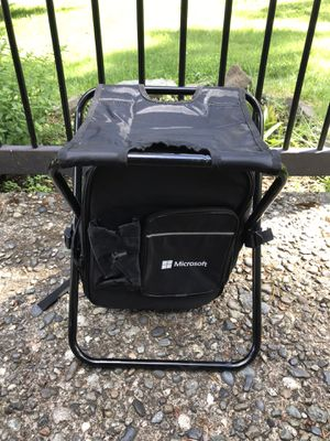 Backpack folding chair for Sale in Bothell, WA