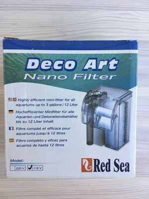 Red Sea filter 15 gal fish aquarium for Sale in Scottsdale, AZ