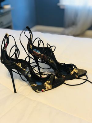Sexy Stiletto Heeled Sandals Size 10 (narrow) fits like 9 for Sale in Douglasville, GA