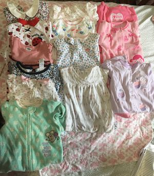 baby girl clothes from 0 to 6 months for Sale in Fort Washington, MD