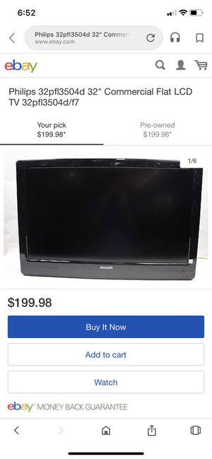 Phillips 32 in LCD for Sale in Scottsdale, AZ