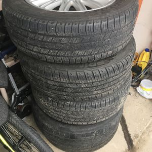 Goodyear Tires 225/60/17 With Rims for Sale in Buffalo Grove, IL