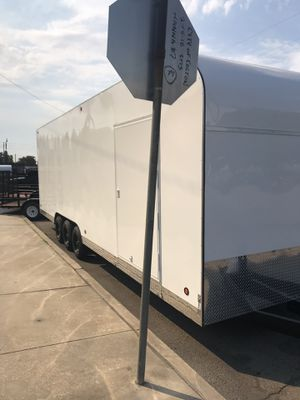 Brand new 8.5x28x8 enclosed trailer for Sale in Rancho Cucamonga, CA