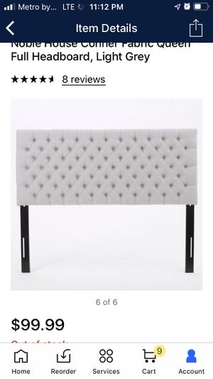 Queen Headboard & Bed Frame for Sale in Victorville, CA