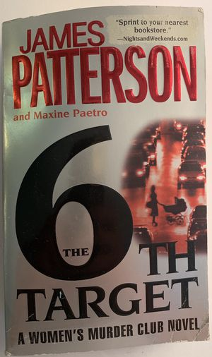 """James Patterson and Maxine """"The 6th Target"""" Novel for Sale in Levittown, PA"""