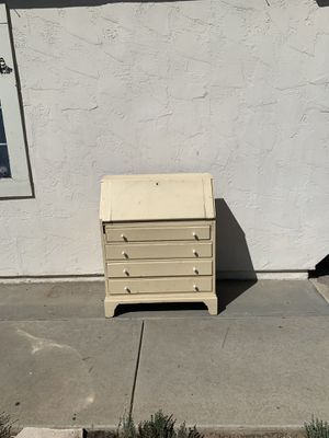 Antique wood fold top desk with drawers for Sale in Vista, CA
