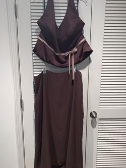 Alfred Angelo 2 Piece Brown Dress for Sale in Hollywood,  FL