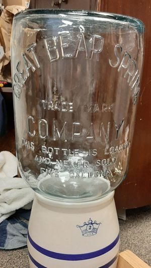 Great Bear Springs 5 gallon water bottle for Sale in Tacoma, WA