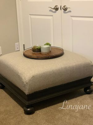 Large Ottoman /coffee table for Sale in Wilsonville, OR