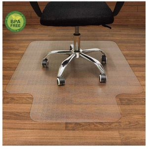 AiBOB Office Chair mat for Hardwood Floor, 36 x 48 inches, Easy Glide for Chairs, Flat Without Curling, Floor Mats for Computer Desk for Sale in Bakersfield, CA