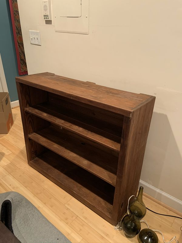 Sturdy Wooden Bookshelf