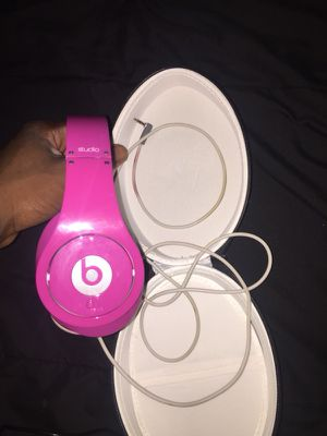Pink studio beats for $50 for Sale in Brandon, FL