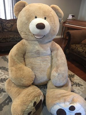 Fluff stuffed bear for Sale in Sacramento, CA