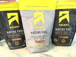 Ascent Native Fuel Whey- Post & Pre Workout for Sale in Dallas, TX