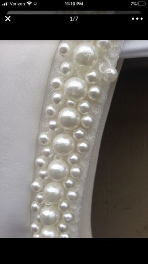 Knee Length Wedding/Prom Dress -size 13 for Sale in Federal Way, WA
