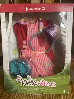 American Girl Doll Wellie Wishers Ringmaster Outfit for Sale in Simi Valley, CA