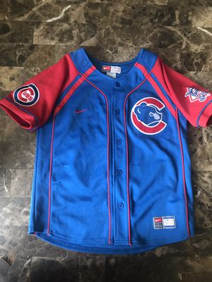 Chicago Cubs Derrek Lee Jersey youth kids small. Sewn logos for Sale in IL, US