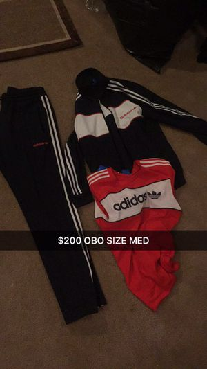 Adidas Jogging Suit Men's Medium!!! $100 for Sale in Cleveland, OH